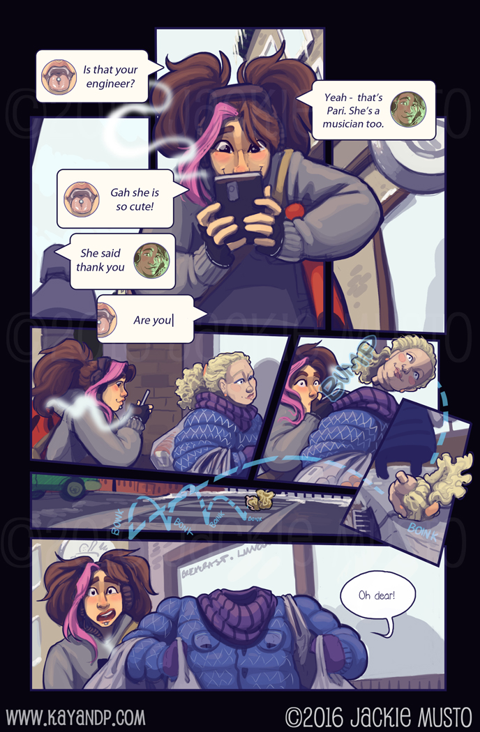 Kay and P: Issue 19, Page 22
