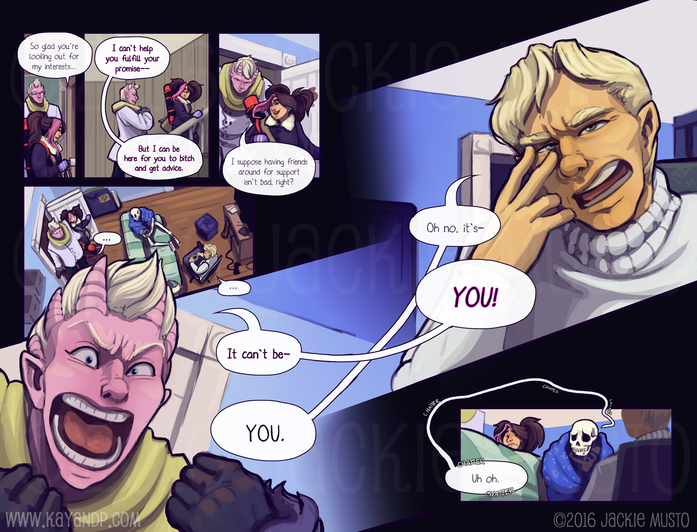 Kay and P, Issue 20: Page 16-17