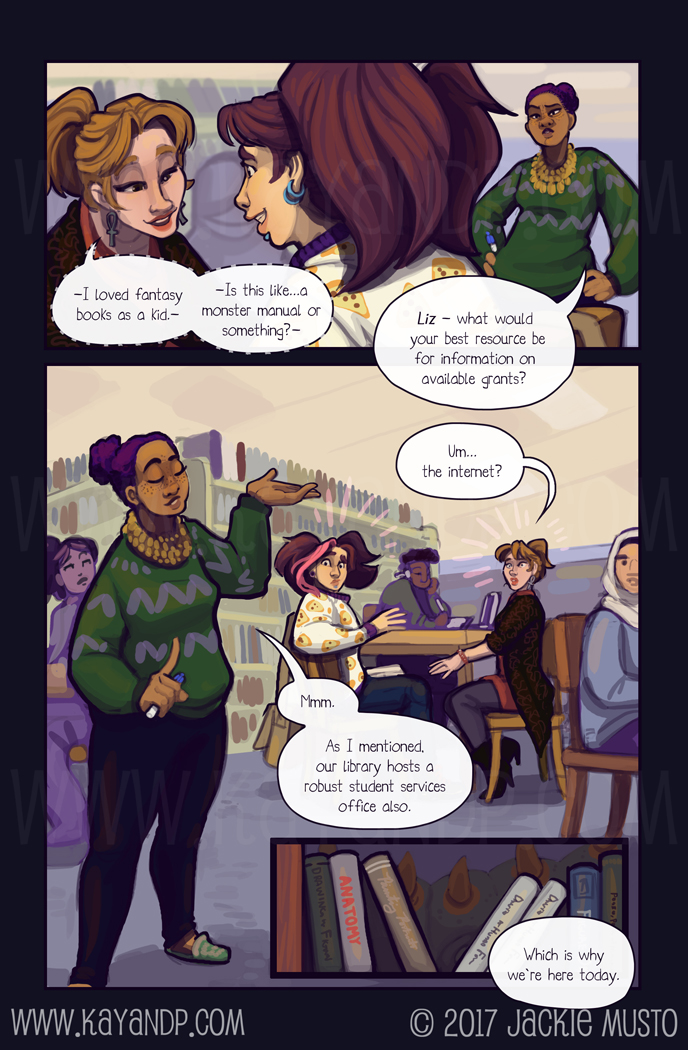 Kay and P, Issue 21: Page 03