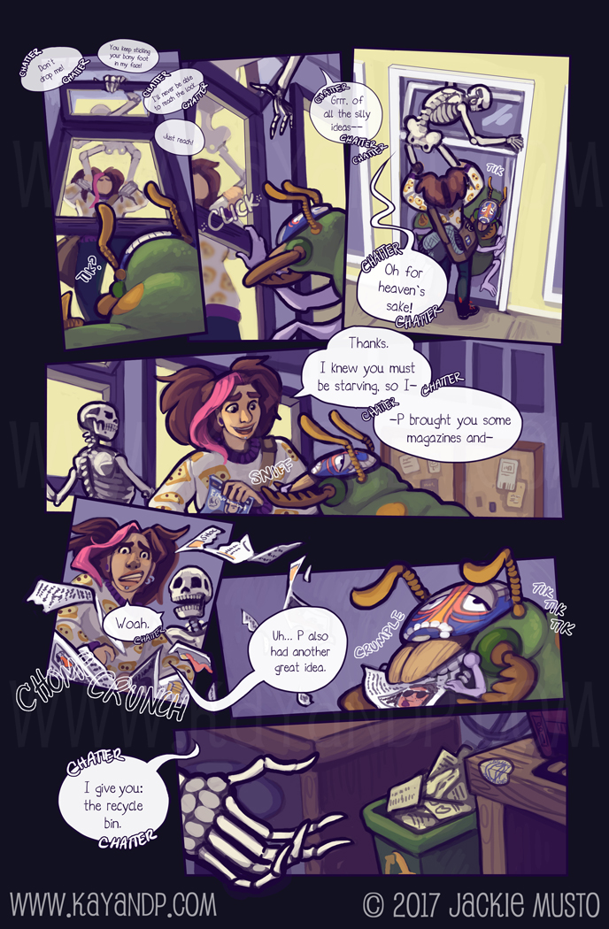 Kay and P, Issue 21: Page 11