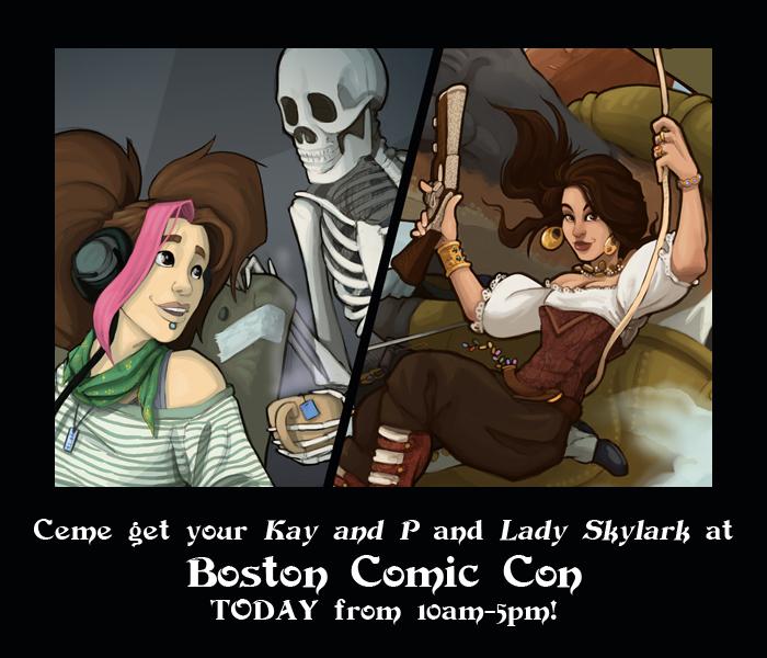 Boston Comic Con!