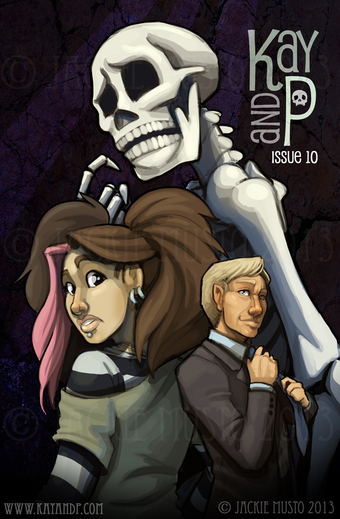 Kay and P Issue 10 - Do You Want to Know a Secret?