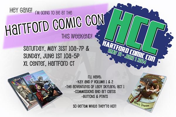 Hartford Comic Con 2014!