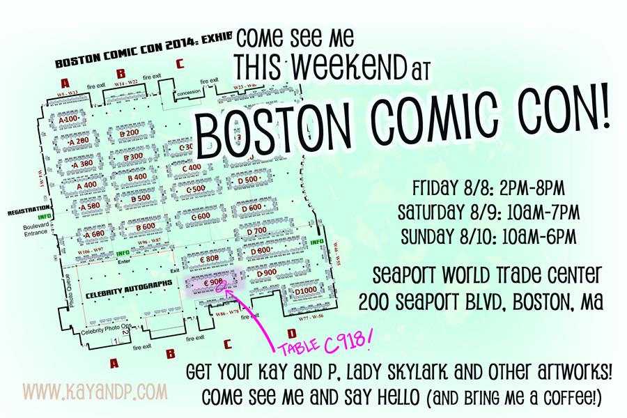 Boston Comic Con 2014!