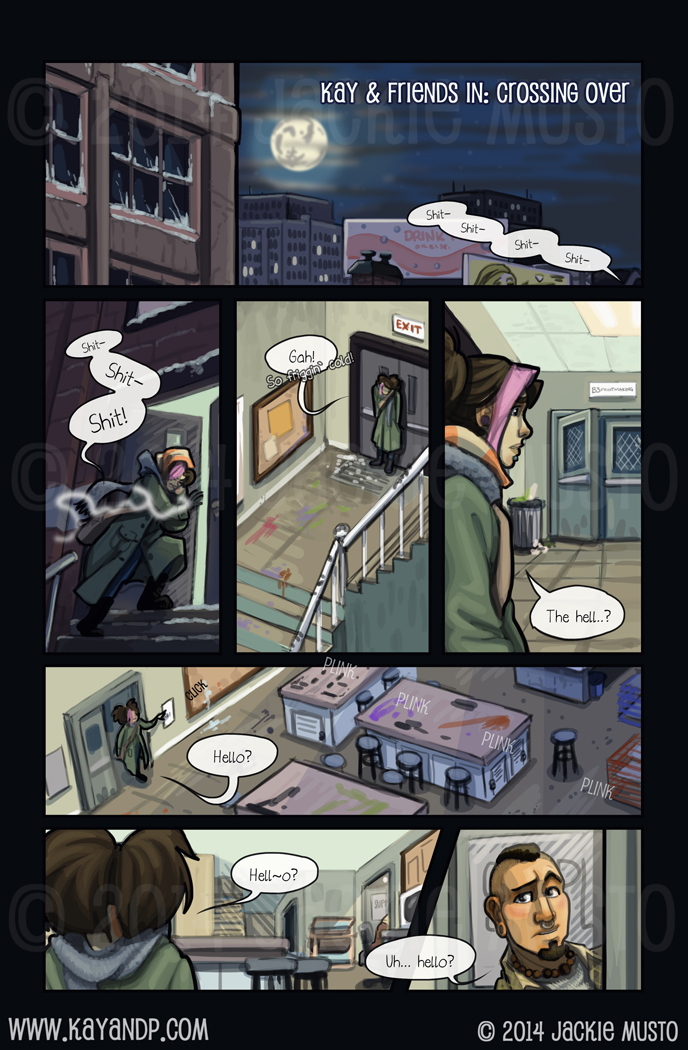 Crossing Over: Page One