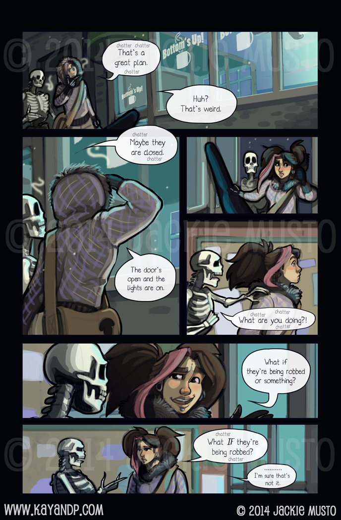 Kay and P: Issue 14, Page 16