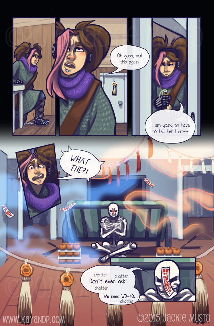 Kay and P: Issue 15, Page 13