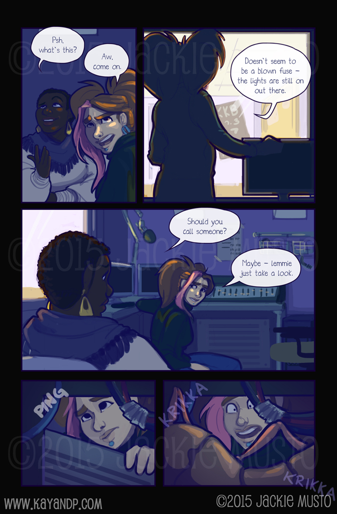 Kay and P: Issue 15, Page 19