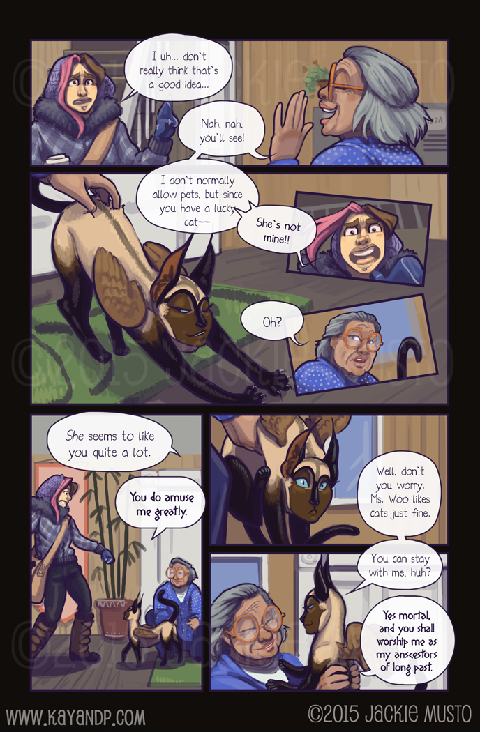 Kay and P: Issue 15, Page 16