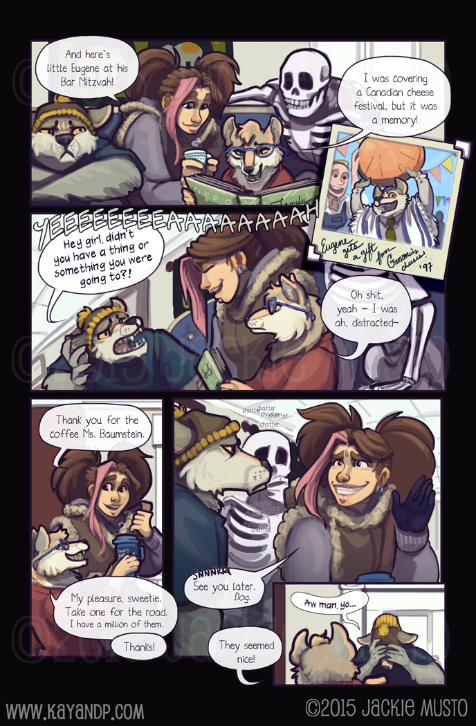 Kay and P: Issue 16, Page 12